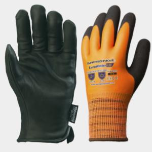 Rękawice ocieplane i termoodporne