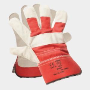 Rękawice wzmacniane skórą