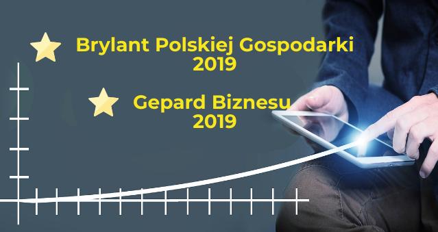Brylant Polskiej Gospodarki 2019 iGepard Biznesu  2019